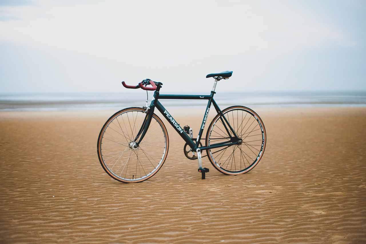 produktfoto af cykler